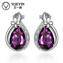 FVRS054 2015 new fine jewelry sets Extravagant Party jewlery set for lady Fashion Big Crystal set