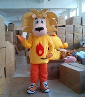 The lion Mascot Costume EMS Express Hot Adult Size SALE