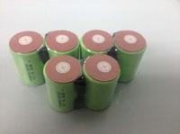 free    shipping 20pcs/lot 10C discharge rate 2000mAh  4/5SubC 4/5SC NiMH rechargeable cell with solder tags