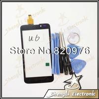 10pcs/lot Wholesale Original Touchscreen Touch Screen Digitizer Glass Replacement For K-Touch Tianyu Amagatarai U6 +Open Tools