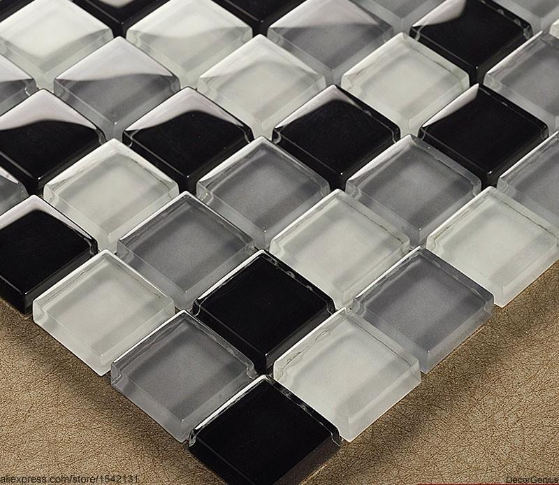Ikea Badkamer Trolley ~ muur tegelstickers badkamer tegels zwart grijs wit glazen plafond glas