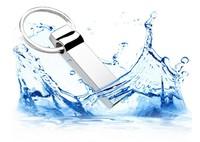 Hotsale!! Waterproof USB Flash Drive Metal Clip USB 2.0 8GB 16G 32G 64GB usb flash Memory Disk Stick Pen/Thumb with Car Key 64gb