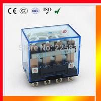 omron LY4NJ HH64P (5pcs/lot) LY4 LY4N JQX-13F electronic mini rele relay relais 24vac 12v 220v 48v DC 10A silver contact
