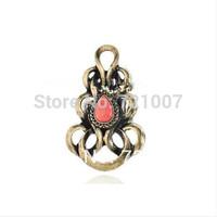 Australia Brand SW Fine Jewelry Rings For Women Love Wedding Sapphire Vintage Gold Red Aneis Femininos Drop Stone Bohemian Party