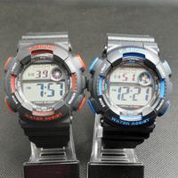 Women Men LED Electronic Multifunctional 30m Waterproof Swim Digital Rubber Wrist Sport Watch H9001