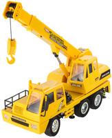 2015 Child  Remote Control Crane Engineering Car Electric Remote Control Car Toy Car Crane Belt Charge of Tower Crane