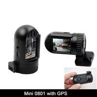 2014 Hd1080p black box dvr mini 0801 ambarella A2S60/car camera mini 0803 ambarella A7 LA50D+AR0330+gps car registrator +16GCARD
