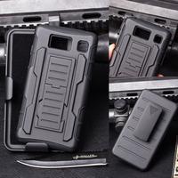 Future Armor Impact Heavy Duty Stand Hard Case For Motorola Droid Razr HD XT925 XT926 Cover Belt Clip Holster+ Flim + Stylus