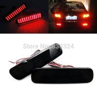 For Land Cruiser LX470 Black Smoked Lens Bumper Reflector LED Tail Brake Stop Light