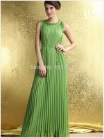 L028,Free shipping aristocratic ladies' fashion sleeveless the floor dress,high waist long dress