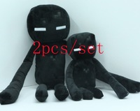 (S+L) 2pcs/lot minecraft Enderman Plush toy ,Even cooly creeper JJ dolls Classic Toys Popular gifts hot sale promotion T923654