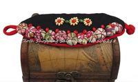 New National Ethnic Handmade Bracelet Cloth Fabric Cotton Embroidery Wrist Warp Bracelet Jewelry Wholesale 2pcs/lot