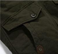 Men's Warm Jackets Parka Outerwear Fur lined Winter thicken Long Coat Hooded