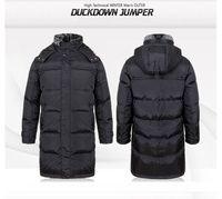 Winter Mens Outer Duck Down Hooded Long Warm Outwear Coat Parka Puffer jacket