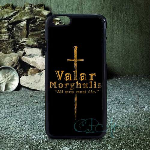 "skin Game of Thrones Valar Morghulis Inspiration Fashion Hard Luxury Case for iphone 6 4.7"" and i6 5.5"" plus Free Shipping(China (Mainland))"