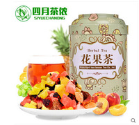 150gx4 chinese fruit tea flower fruit tea green food personal care health care the China flavor tea beautiful for lose weight