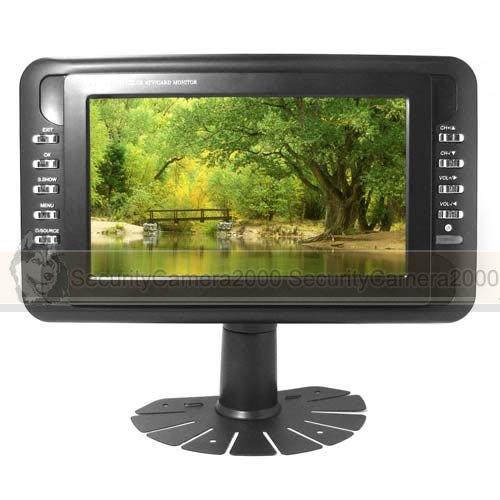 Free Shipping Portable 7 Inch Monitor Color Television and Digital Photo Frame(China (Mainland))