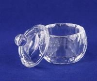 Free Shipping! 1Pcs Glass Crystal Bowl Cup Dappen Dish Acrylic Nail Art Tool Nail Art Equipment