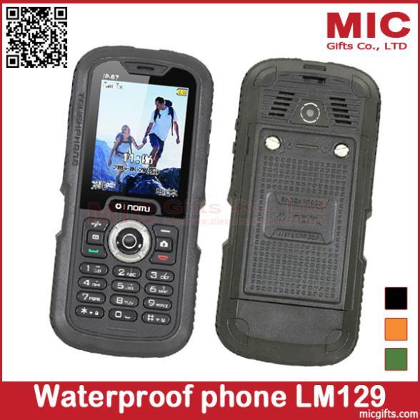 LM129 Long standby time Three anti-phone Nomu original phone function waterproof shockproof mobile P422(China (Mainland))