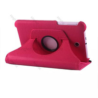 150pcs/Lot for Asus MeMO Pad 7 ME176 ME176CX 360 Degrees Rotating Rotation Protective PU Leather Case with Stand
