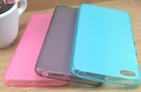 Free shipping 20pcs transparent matte tpu case cover for Lenovo S90 with excellent quality different colours