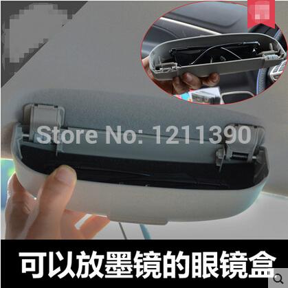 Car Front sun glasses case box Auto decoration for Audi A6 A6L A3 A4 A4L A7 Q3 Q5 Q7 S5 A8/VW Jetta Golf Passta Polo Tiguan CC(China (Mainland))