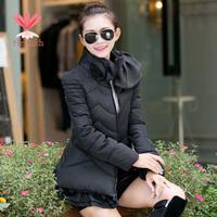 Fashion Women Warm Thicken Winter Jackets Coat Cotton Zipper Female Down Plus Size Slim Casual Womens Parka Jackets C13151W