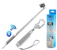 Dispho Mobile Phone Selfie Stick Wireless Bluetooth Selfie Monopod Handheld Telescopic Folding integral stick for Iphone6Samsung