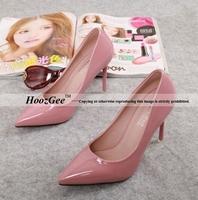 2015 New Fashion Women Pumps 95mm Thin Heel Pointed Basic Classics Women Fashion High Heels Bottom Sexy Women Shoes VD8-1