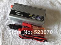 1.5KW 1500W 1500 Watt Modified Sine Wave Power Inverter Home Car DC 12V to AC 220 Converter + USB