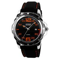 2014 Skmei 0992 watches Men Luxury Brand Design relogio masculino Dress Sports Quartz watch Digital Leather men wristwatches