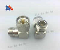 5PCS UHF -j PL259 to N-K right Angle connector  Free  Shiping