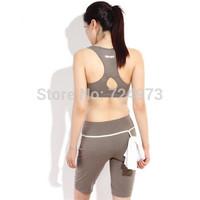 Sleeveless vest+Short Pants women summer gym slim fit breathable tracksuits clothing set,yoga female jogging suits sport suit