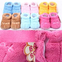 0 a 1 year zapatos del pesebre del bebé los niños zapatos suaves funcle118(China (Mainland))