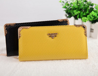 New Women Lady Faux Leather Long Wallet Card Coin Purse Holder Clutch Bag Handbag free shipping