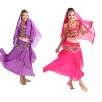 New Arrival Belly Dance Fan Veils Captivating Women Belly Dance Costume Set Elegant Sexy Arab Belly Dance Costume Free Shipping