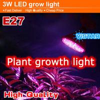 3W LED Plant growing lamp light 38 PCS Epistar LED E27 110V-220V-240V red blue growth light Free shipping