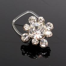 Wholesale 10pcs Women Fashion Elastic line Rhinestone Metal Flower Toe Ring Foot Beach Jewelry 2015 New