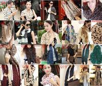 5pcs/lot  DHL free for 40pcs  spring scarf chiffon women scarf shawl silk scarf designer brand women wraps