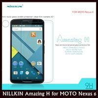 NILLKIN Amazing H Nanometer Straight Anti-burstTempered Glass Flilm for MOTO Nexus 6 XT1100 XT1103 + Retail + Free shipping