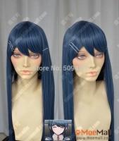 FSX5985Q>>Danganronpa Maizono Sayaka 100cm Grayish Blue Cosplay Party Wig