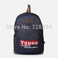 Hotsale unisex Shoulder Bag School bag Backpacks made of denim B304