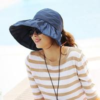 For t3 63 folding women's sun-shading hat anti-uv large brim beach sun hat sun visor