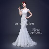 lace mermaid wedding dress vestidos de novia 2015 sexy wedding dresses fashionable romantic vestido branco wedding gowns 627