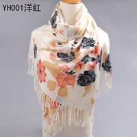Free Shipping(4pcs/lot) Whole Sale New Style Women Cotton Scarves Warmth  Large Scarf / Shawl /Wrap / Pashmina 190*70cm