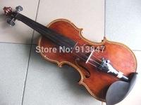 Violin 4/4 Antique All Wood Violin Hot Sale  Christina Gift  musical instrument 201104A