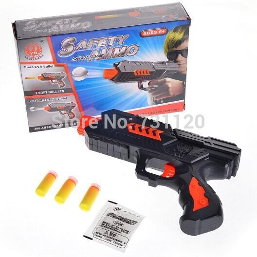 Latest Crystal Bullet Gun! 400 Pcs Crystal bomb Soft Bullet Gun Paintball Gun CS Gun Shooting Game Outdoor Toys For Boys(China (Mainland))