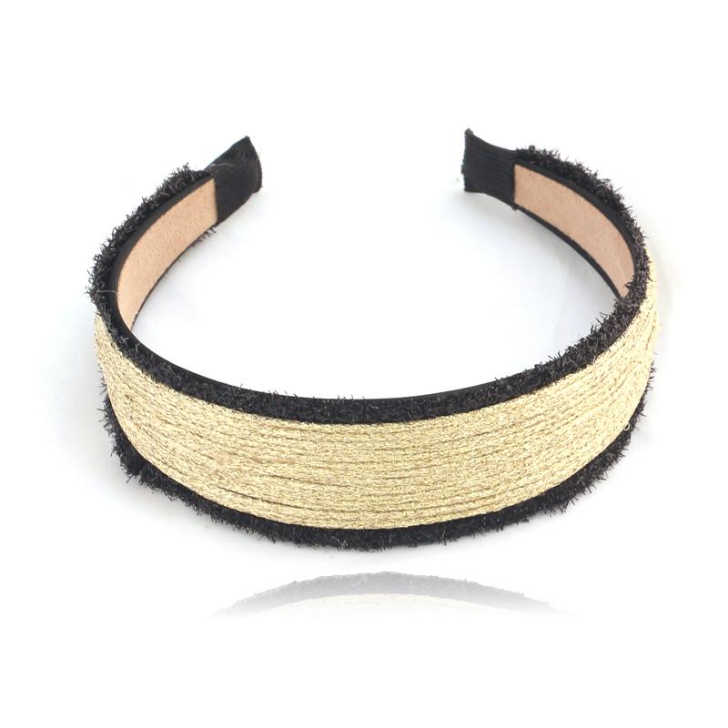 NEW Women Chic Fabric Lace Wide Stretch Headband Romantic Retro Cotton Free Shipping(China (Mainland))