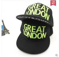 TOP QUALITY Visors Hats Print GREAT LONDON flat hat hip-hop cap harajuku baseball cap man woman hat in winter