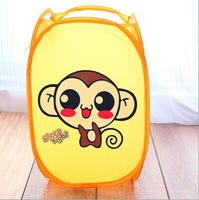 Fashion  Folding Animal picture Lanudry Wash Bag / Storage Basket For Cloth  /CTW